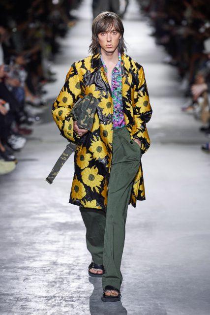 穿上蜷川實花的 Dries Van Noten 美少年|2020春夏巴黎男裝